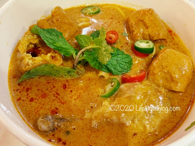 Nyonya ColorsのDry Curry Mee