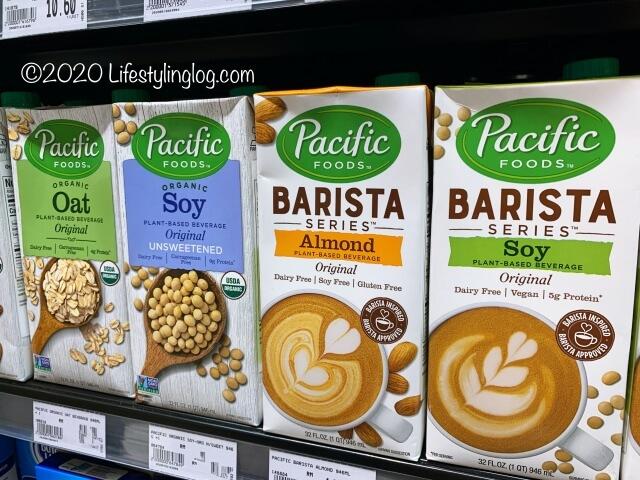 Pacific FOODSのアーモンド&オートミルクや豆乳
