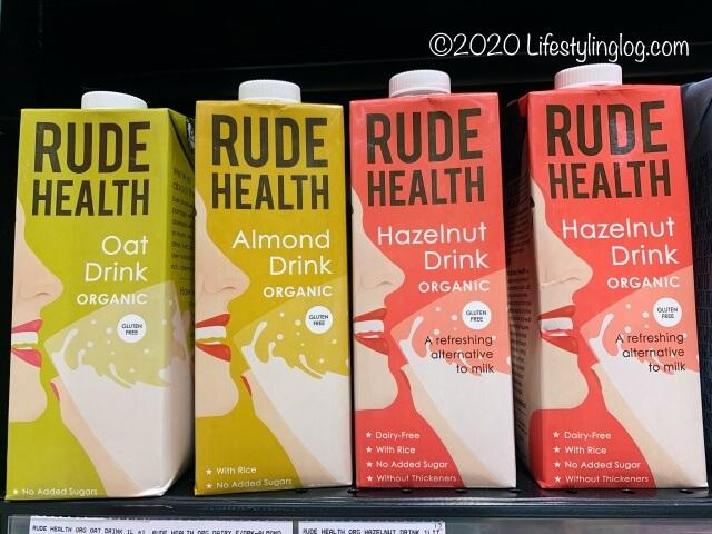 RUDE HEALTHの植物性ミルク