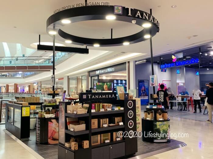 The Gardens MallにあるTANAMERAの店舗