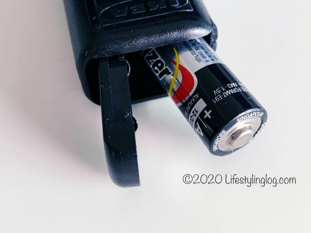 IKEAのミルク泡立て器のPRODUKT(プロドゥクト)の電池の入れ方(プラスの向き)