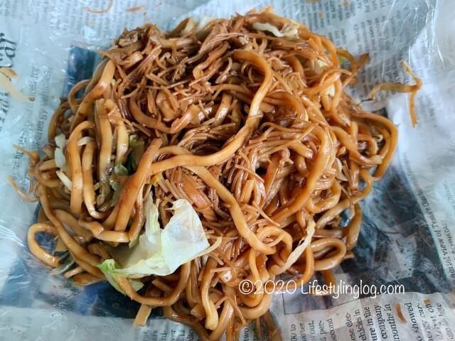 Nyonya Heritage(ニョニャヘリテージ)の経済米粉麺(Economy Fried Bihun/Mee)