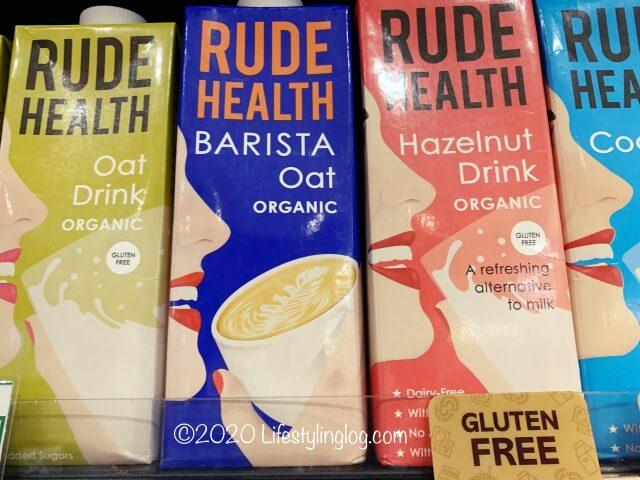 RUDE HEALTHのBarista Oat Organic