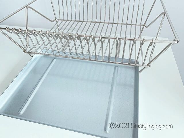 IKEA(イケア)のFINTORPフィントルプの水切りかごのトレイ