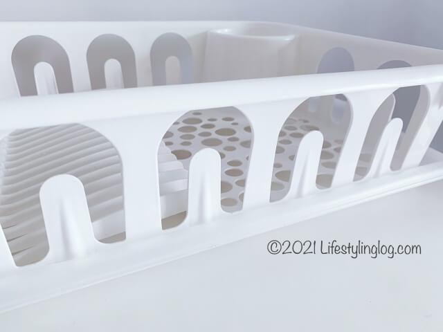 IKEA(イケア)FLUNDRA フルンドラの水切りかごのサイド部分