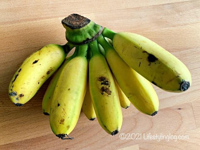 マレーシアのバナナ
