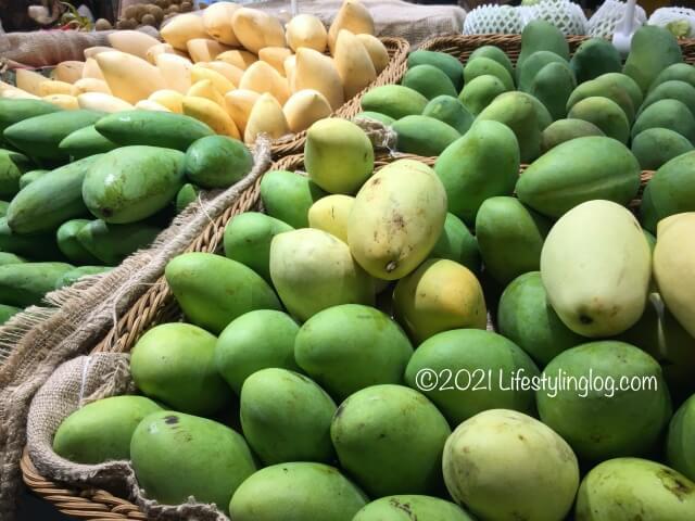 マレーシアで販売されているマンゴー