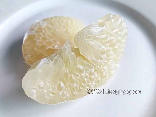 文旦(ポメロ)の果実
