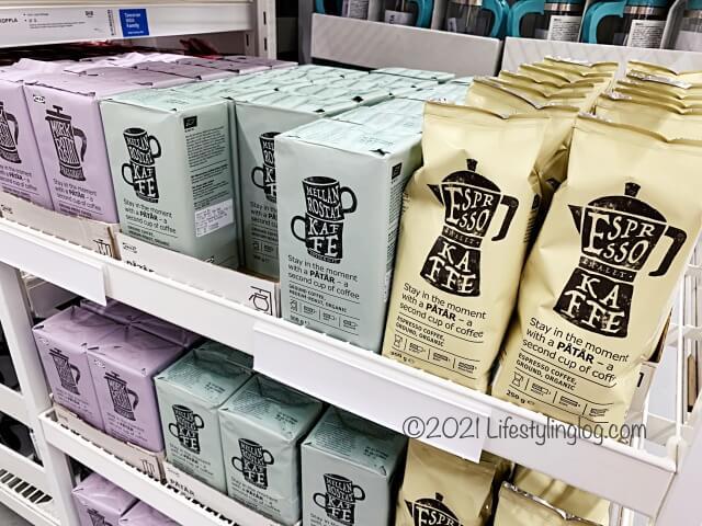 IKEA(イケア)の店内で販売されているPÅTÅR(ポートール)コーヒー