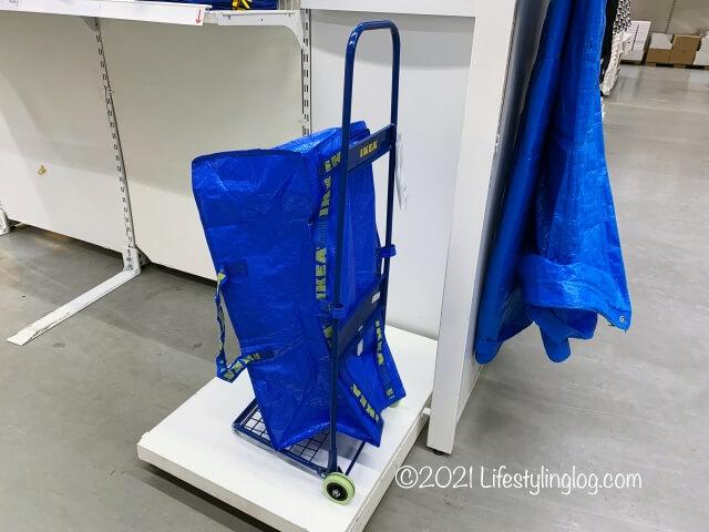 IKEA(イケア)FRAKTA(フラクタ)のトロリー用バッグ