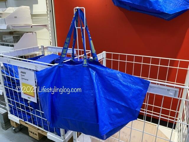 IKEA(イケア)FRAKTA(フラクタ)のLサイズキャリーバッグ