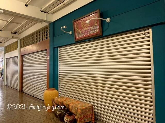 セントラルマーケットにあったプラナカンヘリテージギャラリーの店舗