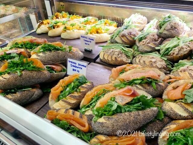 Croisserie Artisan Bakery @ Damansara Heightsのサンドイッチ