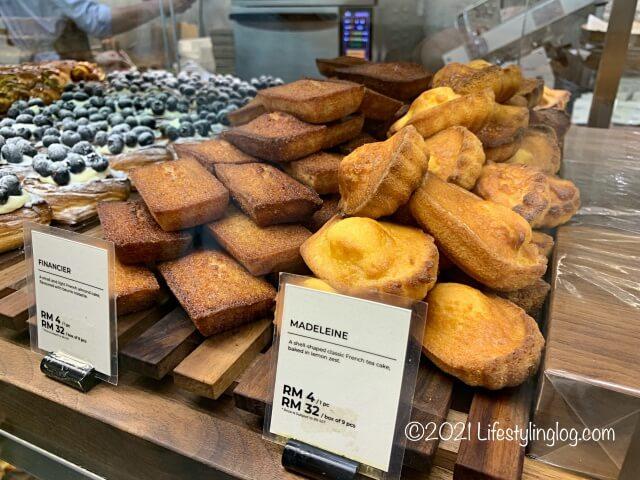 Croisserie Artisan Bakery @ Damansara Heightsのフィナンシェやマドレーヌ