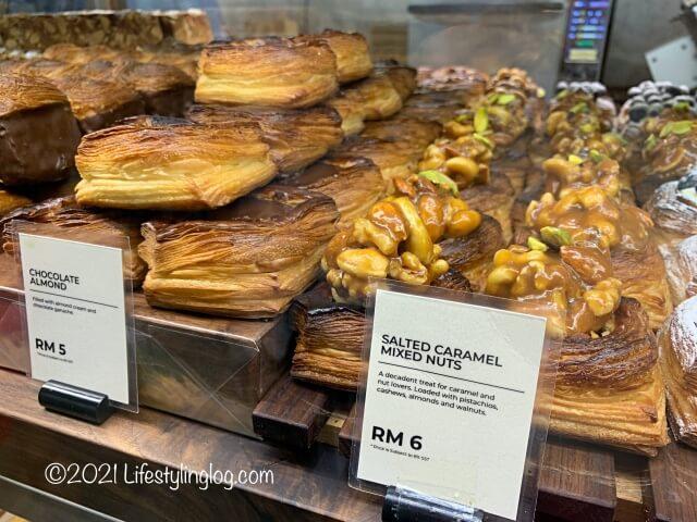 Croisserie Artisan Bakery @ Damansara Heightsのチョコレートアーモンド