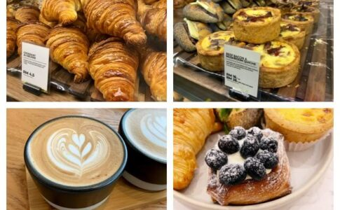 クロワッサンが有名なCroisserie Artisan Bakery @ Damansara Heights