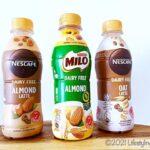 マレーシアで販売が開始されたプラントベース&乳製品不使用のミロアーモンドとネスカフェアーモンドラテ&オートラテ