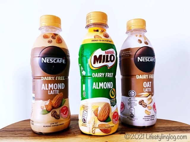 プラントベース&乳成分を含まないミロアーモンドとネスカフェアーモンドラテ&オートラテ
