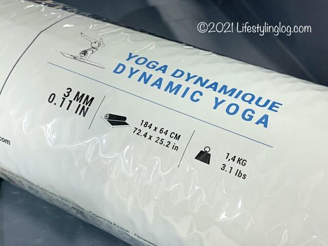 Dynamic Yoga(ヨガマット)のスペック