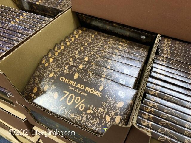 IKEA(イケア)で販売されているチョコレート商品