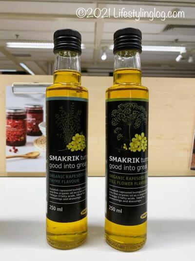SMAKRIK(スマークリーク)のフレーバーつきオーガニックオイル