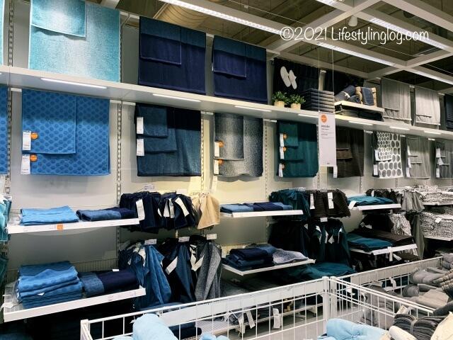 IKEA(イケア)のタオル売り場