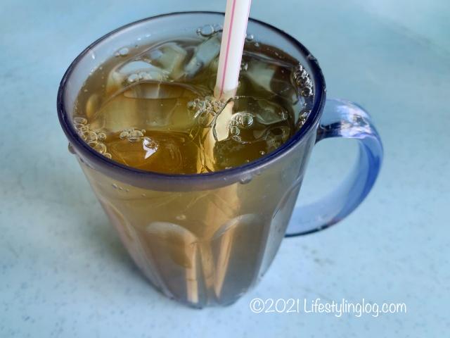 強記補品(Keong Kee Herbal Soup)の菊花茶