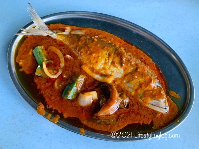 強記補品(Keong Kee Herbal Soup)のAssam Spicy Steam Fish