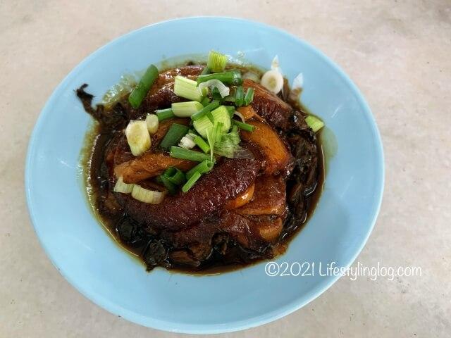 強記補品(Keong Kee Herbal Soup)の梅菜扣肉