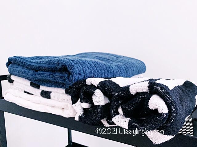 自宅で使用しているIKEA(イケア)のタオル