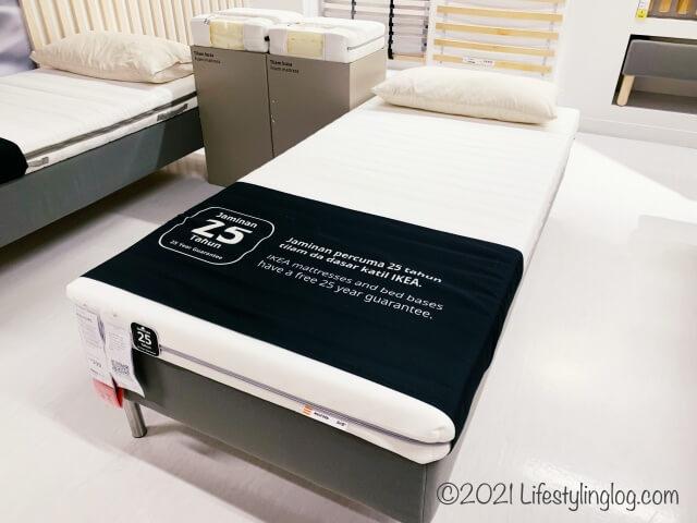 IKEAのMALFORS(マールフォルス)のフォームマットレス