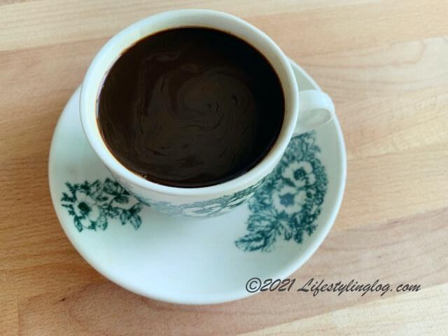 阿榮哥海南茶(Ah Weng Koh Hainan Tea )のKopi(コピ)