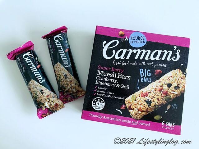 Carman's(カーマンズ)のミューズリーバー