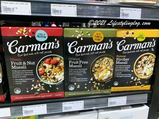 Carman's(カーマンズ)のミューズリー