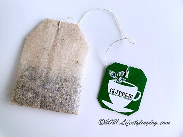 プラスチックフリー&植物由来のクリッパーのティーバッグ