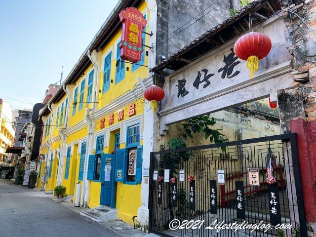鬼仔巷(Kwai Chai Hong)の入口