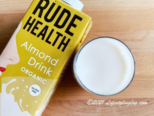 Rude Healthのオーガニックアーモンドドリンク