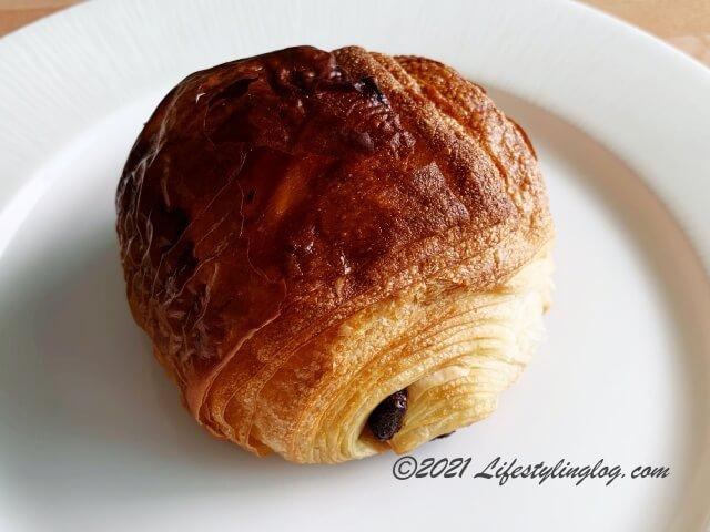 Croisserie Artisan BakeryのPain au chocolat(パンオショコラ)