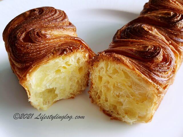 Croisserie Artisan Bakeryのブリオッシュ