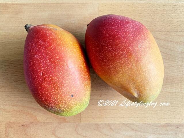 タイ産のアップルマンゴー(Irwin/Aiwen Mango)