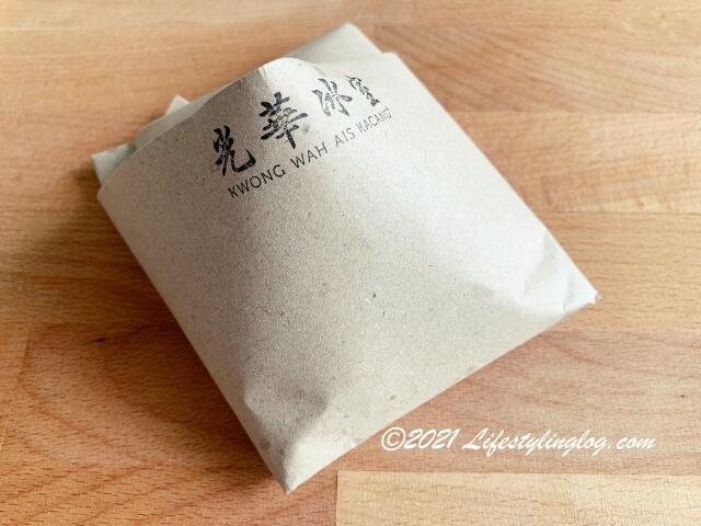 Kwong Wah Ice Kacang(光華)のMee Siamのパッケージ