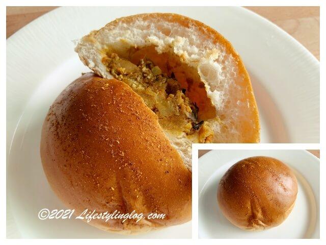 Kwong Wah Ice Kacang(光華)のCurry Chicken Bun