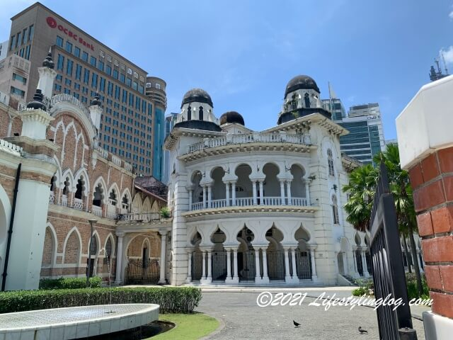 Panggung Bandarayaの隣にある旧最高裁判所