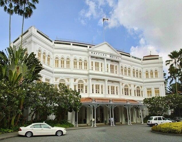 シンガポールにあるラッフルズホテル