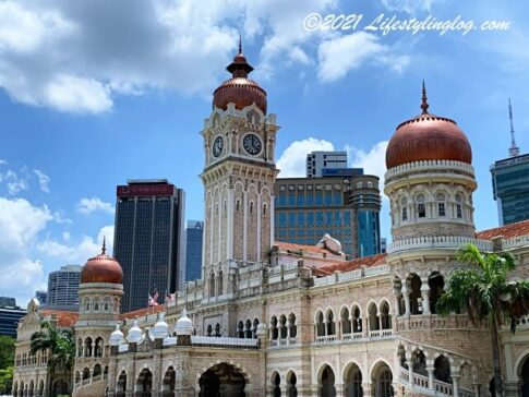 クアラルンプールにあるSultan Abdul Samad Building(スルタン・アブドゥル・サマド・ビル)