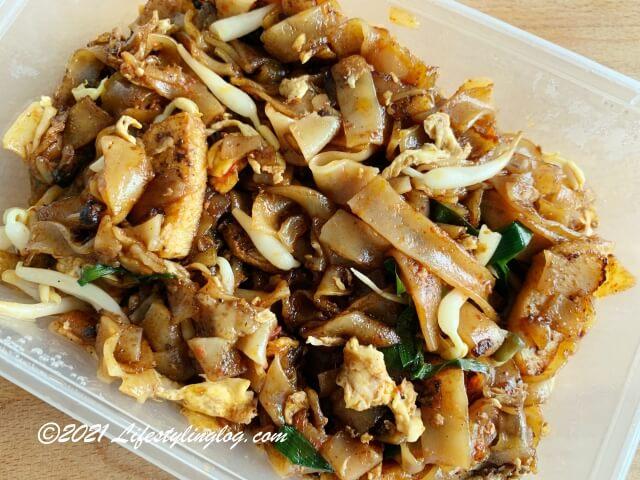 溏記海南茶室(Thong Kee Cafe)のChar Kueh Teow