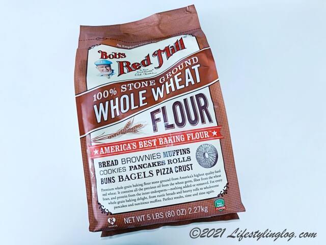 Bob's Red Mill(ボブズレッドミル)の全粒粉