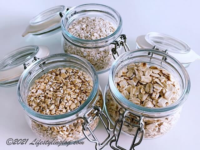 オーツ麦(オートミール)の種類と違い、選び方のポイント