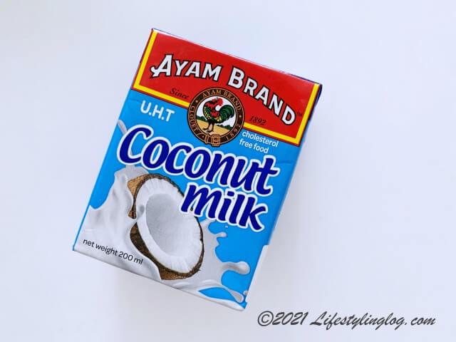 Ayam Brandのココナッツミルク