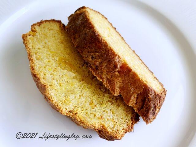 コパラミツ・Cempedak(チェンペダ)のペーストで作ったケーキ